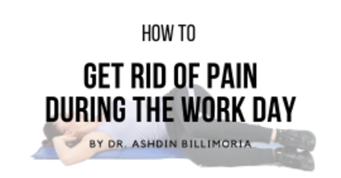 How To Get Rid Of Pain During The Work Day image