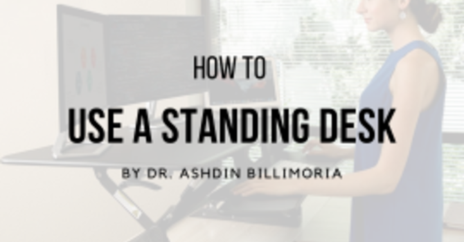 How To Use A Standing Desk image