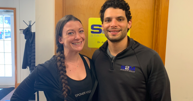 [NEW PODCAST] Replacing Alcohol For A Yoga Mat — Corey Brueckner, Yoga Boutique Manager at Lifetime Fitness Bridgewater image